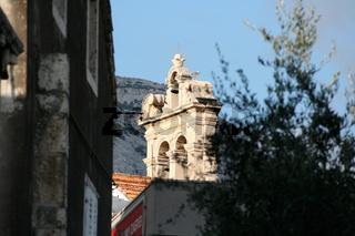 Korcula   cityview of Korcula