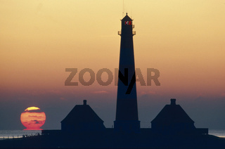 Lighthouse, Westerhever / Schleswig-Holstein, Germany
