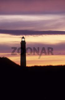 Lighthouse, Westerhever / Schleswig-Holstein, Germany