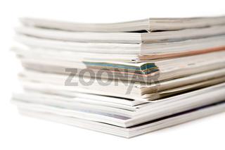 Gestapelte Magazine