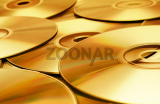 CD-Textur (gold)