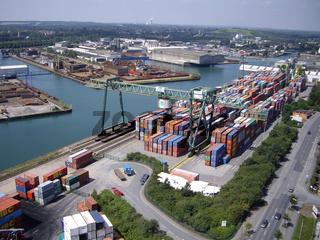 Containerhafen Dortmund Luftbild