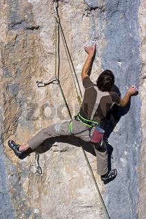 Im 10.Grad  / Extreme climb