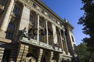 Budapest, Ungarische Nationalbank am Szabadság tér