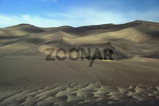 Sand Dune Landscape Great Sand Dunes NM