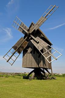 Windmuehle, Windmill, Isle Oeland, Sweden, Schweden