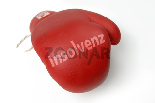 Roter Boxhandschuh, Insolvenz