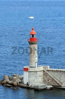 Leuchtturm bei Bastia/Corse