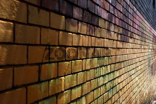 Backsteinwand