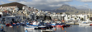 Kanaren, Teneriffa, Alter Hafen von Los Cristianos