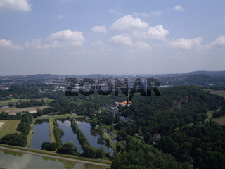 Luftbild Ruhrwiesen Dortmund