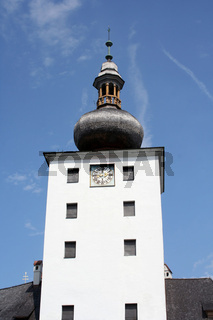 Turm Schloss Orth