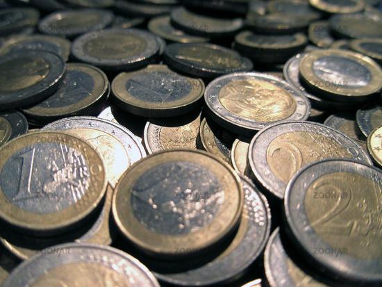 Foto Euro Münzen Bild 88319