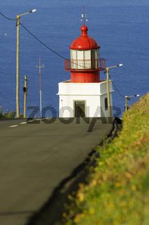 Portugal, Madeira, Leuchturm am Ponta do Pargo, Lighthouse