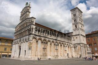 Chiesa di San Michele in Foro  in Lucca, Toskana - Church San Michele in Lucca, Tuscany
