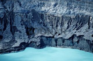 Krater des Poas Vulkans