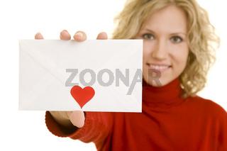 Liebesbrief zeigen