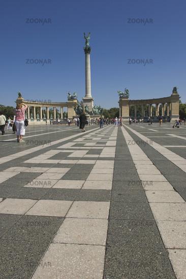 Milleniumsdenkmal auf dem Heldenplatz