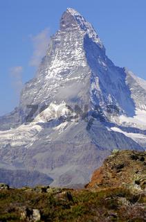Matterhorn, Hörnligrat, Zermatt, Schweiz
