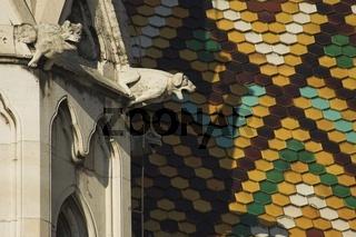 Budapest, Wasserspeier an der Matthiaskirche