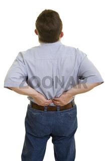 Verspannung im Rücken