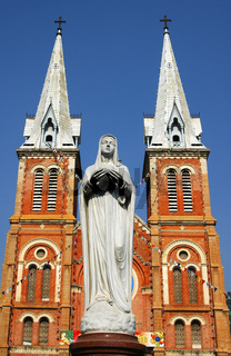 Katholische Kathedrale, Ho Chi Min Stadt, Vietnam