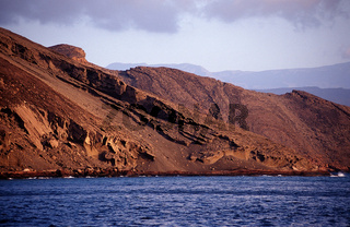Le Goubet Vulkane, Djibouti,  goubet volcanos, Afrika, Africa