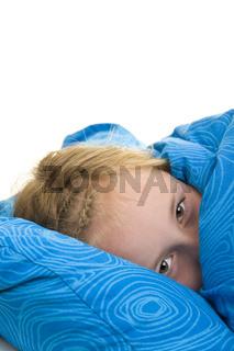 Angst haben im Bett