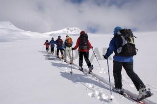 Skitour auf dem Simplonpass