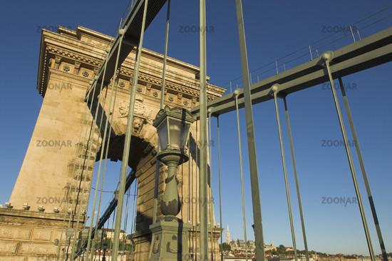 Budapest, Kettenbrücke (Széchenyi lánchíd)
