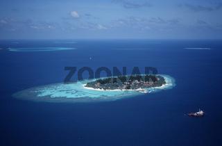 Luftaufnahme Malediven