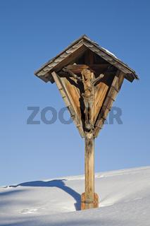 Wegkreuz/wood cross in Bavaria