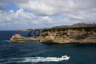 Hafeneinfahrt von Bonifacio