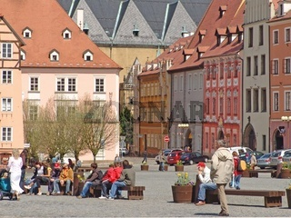 Marktplatz in Cheb (Eger)