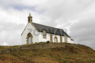 Carnac, am Tumulus Saint-Michel