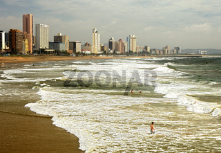 Golden Mile Sandstrand Durban
