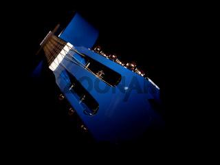 Blaue Gitarre