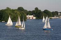 Sailboats | Segeln auf der Alster