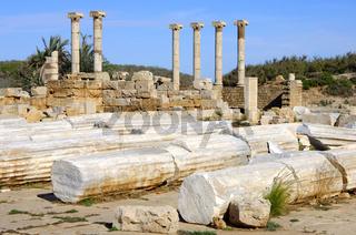 Ionische Säulen
