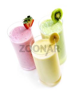 Fruit smoothies