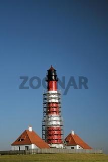 Westerhever Leuchtturm wird renoviert