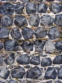 Basalt - Mauerwerk