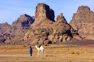Tuareg Nomade,  Akakus