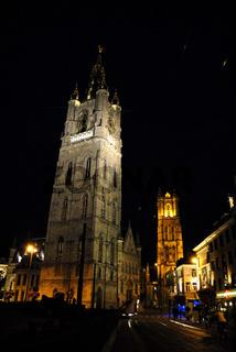 Gent, historische Altstadt, Belfried