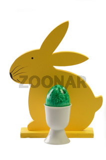 Gruenes Osterei - Green Easter Egg