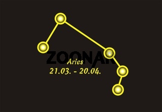 Sign of the zodiac aries