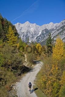 Mountainbiken im Karwendel / Biken