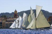 Start bei den Voiles de St Tropez