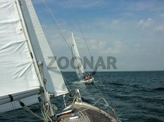 Segeln am Wind