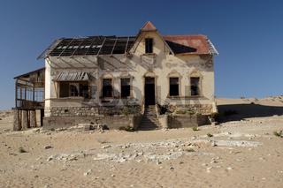 Ruine in Kolmanskop